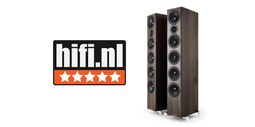 HiFi.Nl awards 5 Stars to the Acoustic Energy AE520
