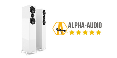 Alpha Audio award the AE509 5 Stars