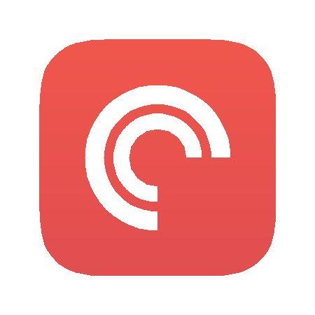Subscribe on Pocketcasts Logo
