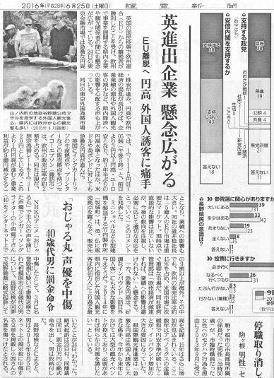 Hiroko Konishi 小西寛子 新聞記事 NEWS PAPER ARTICLE 読売新聞 記事 名誉毀損