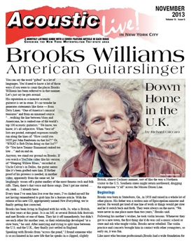 Brooks Williams American Guitarslinger Down Home In The U