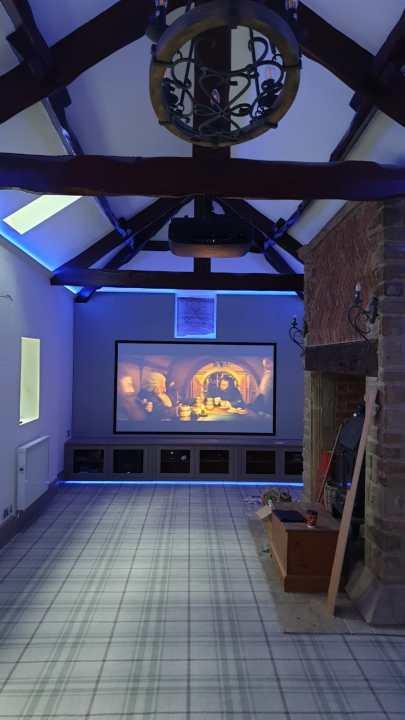 Home Cinema Room Loft