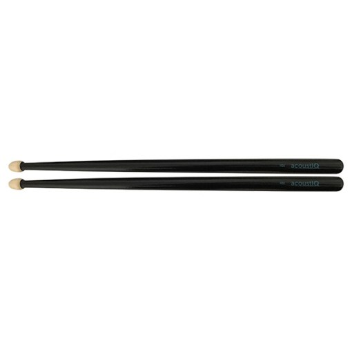 acoustIQ Grand Slam IQ1 Snare Drum Sticks (Black)