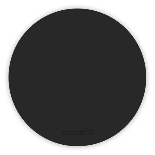 acoustIQ Grand Slam Practice Pad (Black)