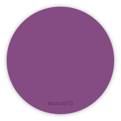acoustIQ Grand Slam Practice Pad (Purple)