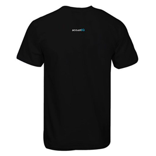 acoustIQ T-shirt (Black)