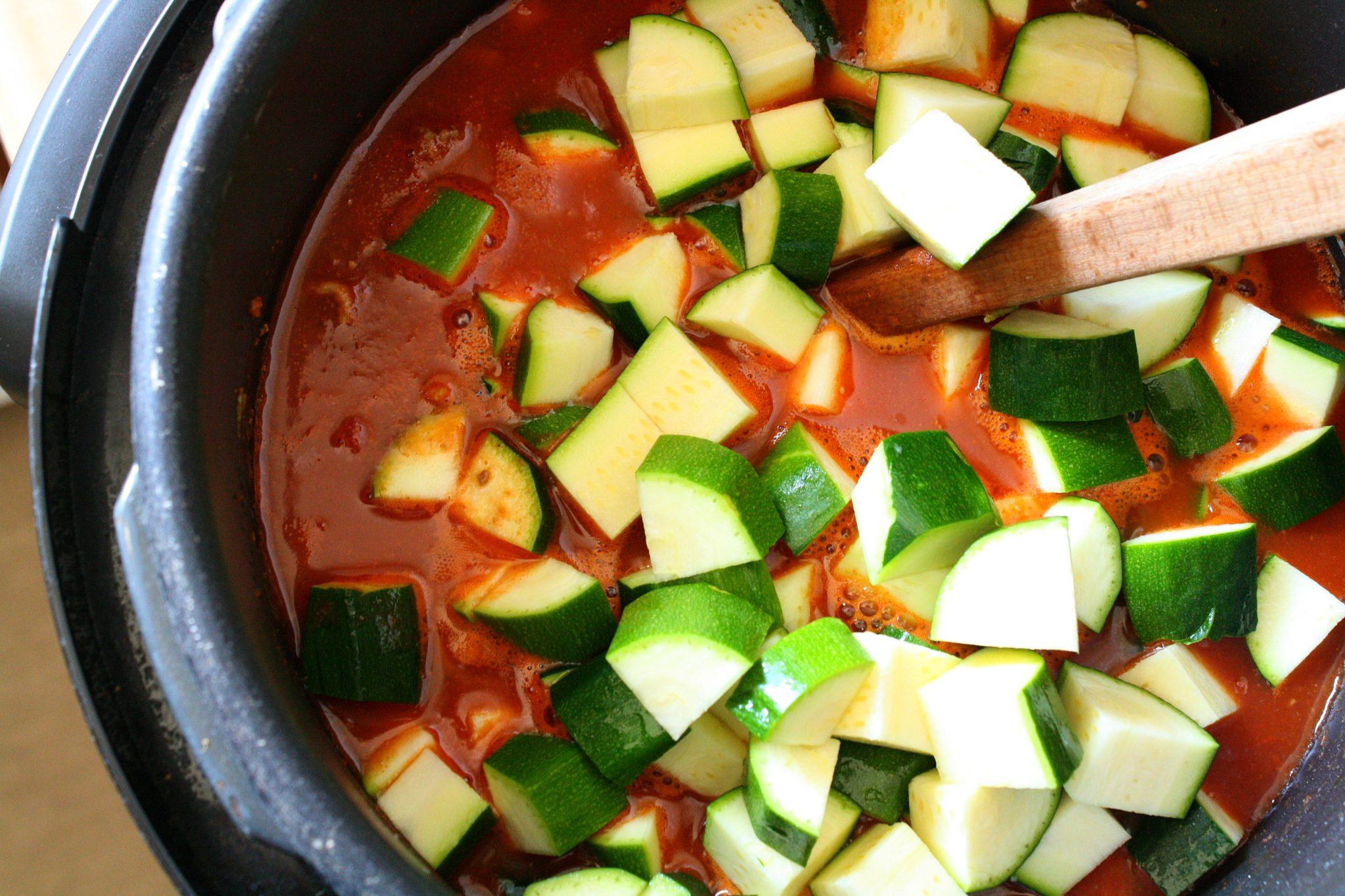 chili com vegetais