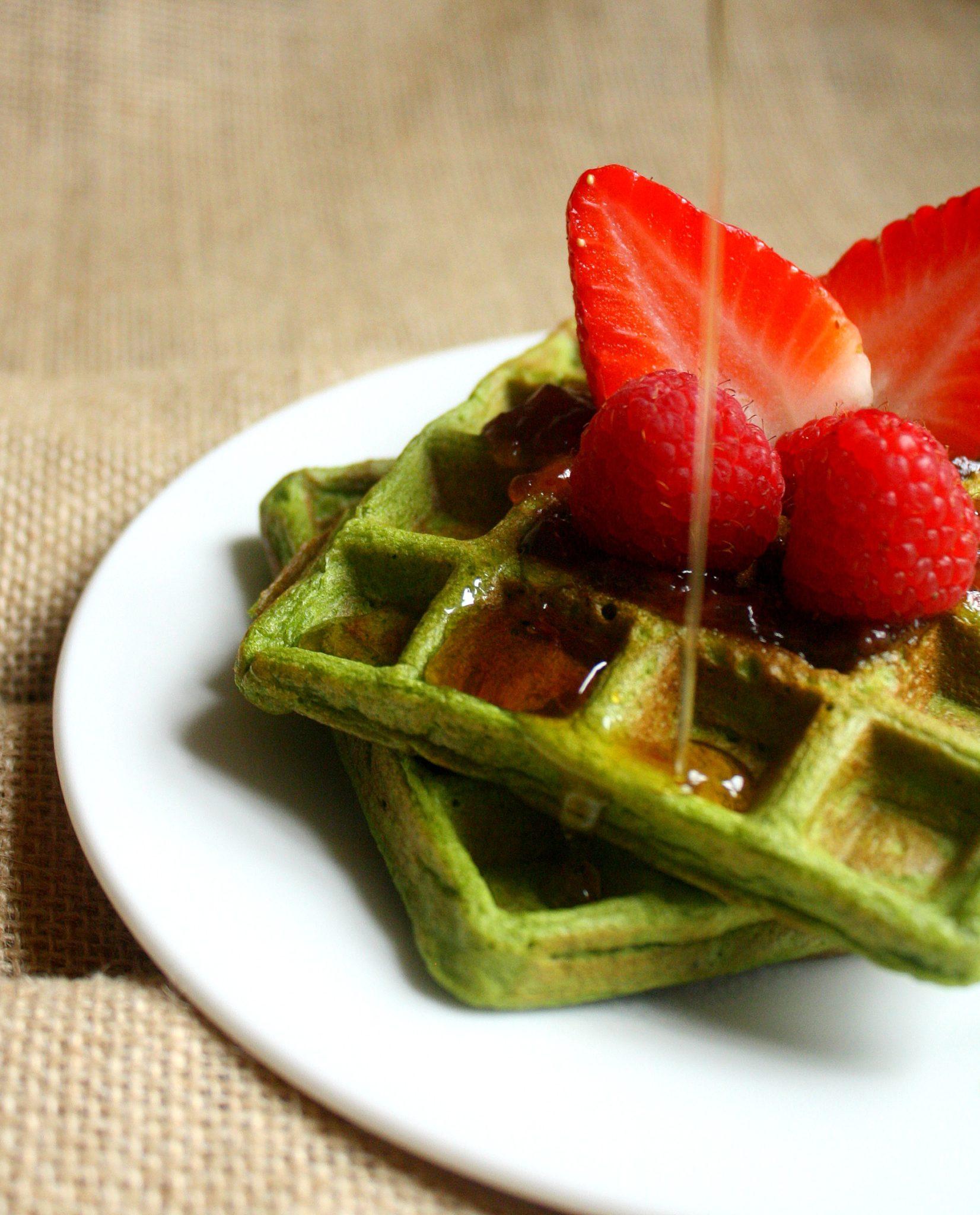 Waffle saudável