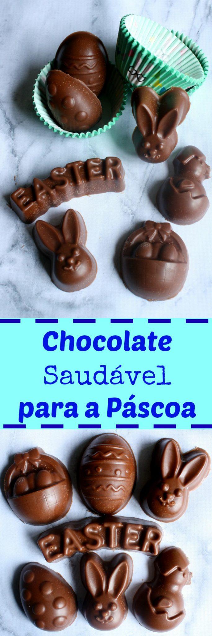 Chocolate Caseiro para a Páscoa (Paleo/ Low Carb)! Pronto em 5 minutinhos e com somente 5 ingredientes!