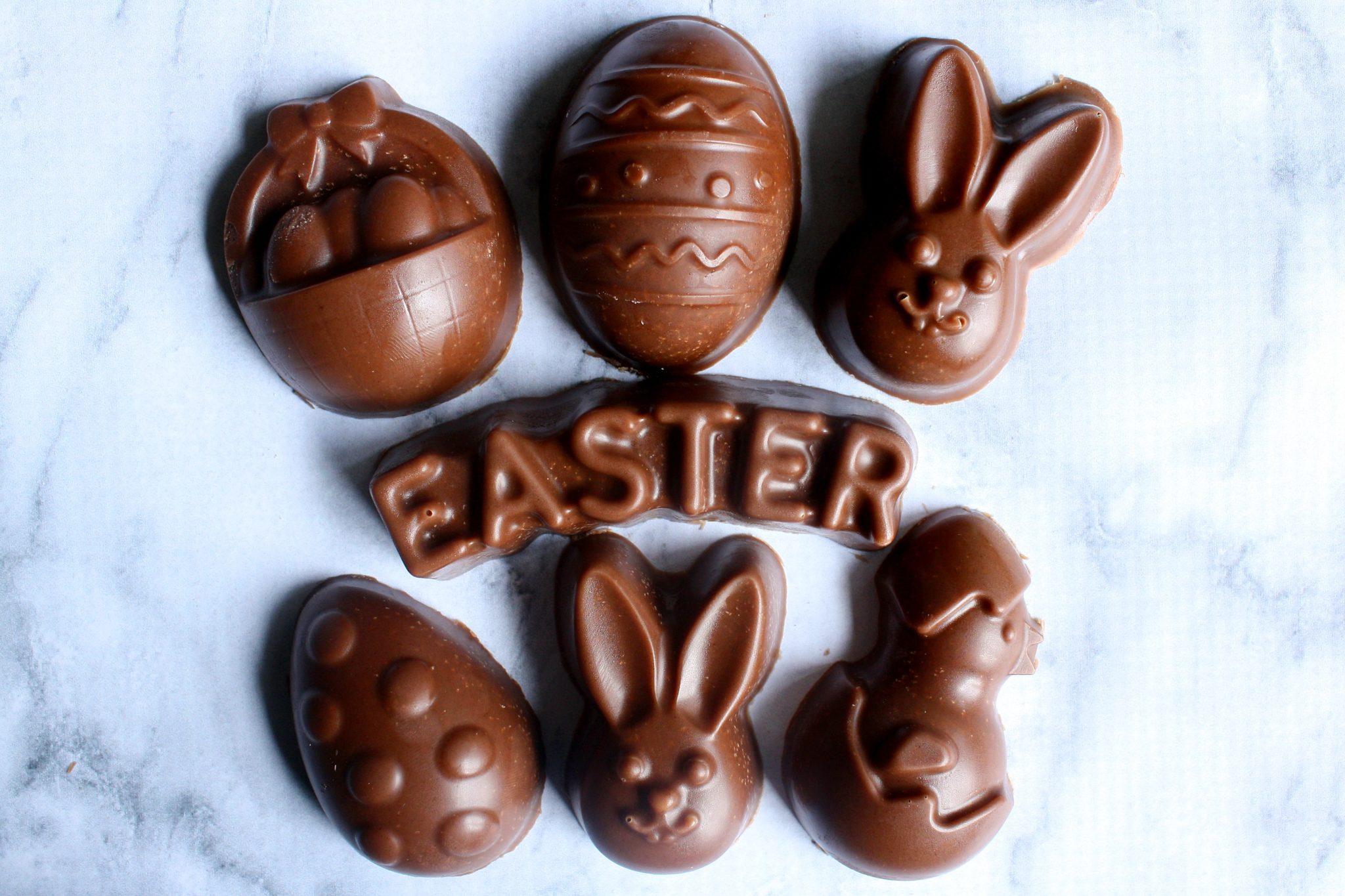 Chocolate caseiro para Páscoa