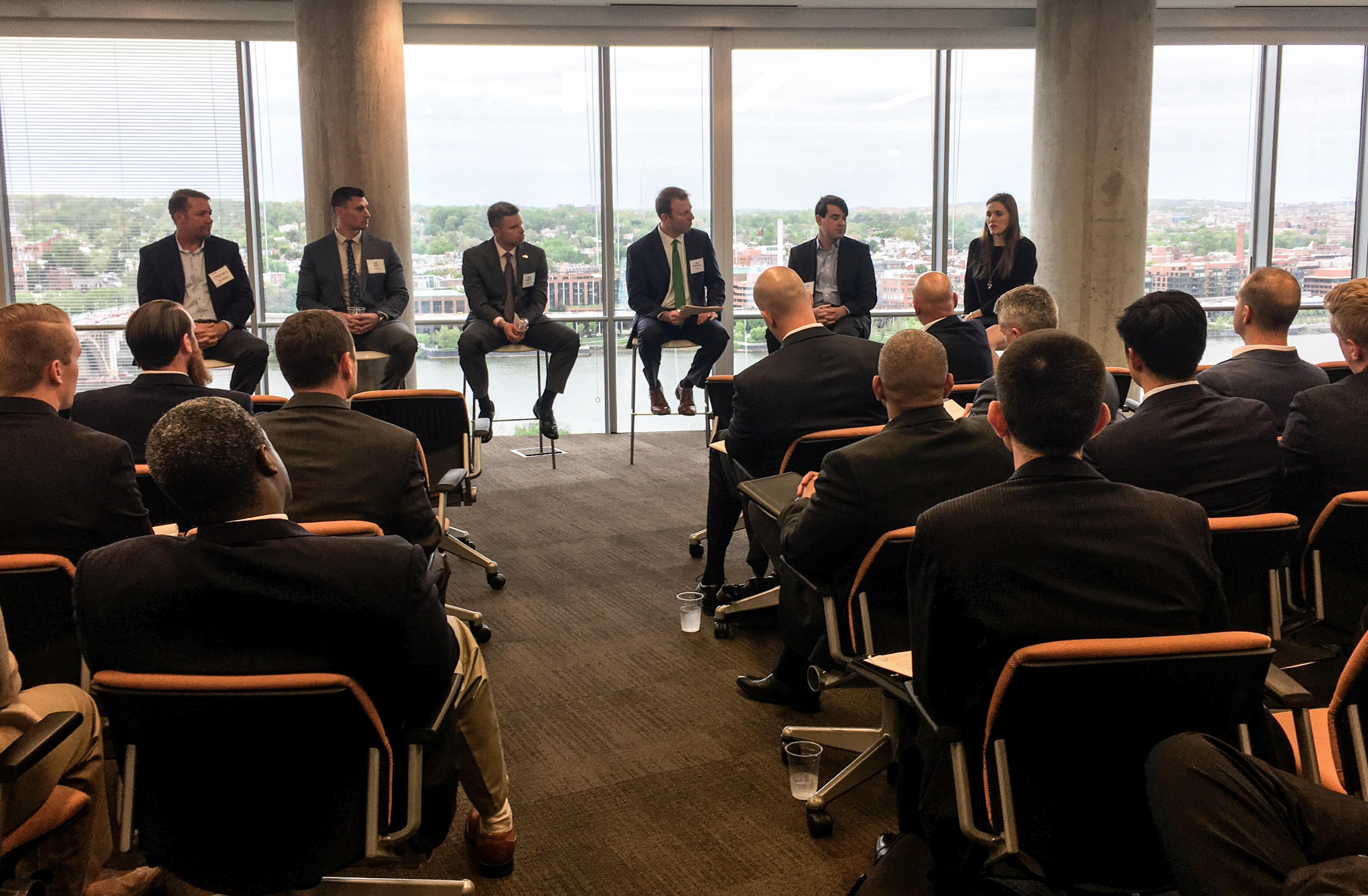 Deloitte Hosts Panel Discussion And Speed Networking Session For Dc Area Proteges