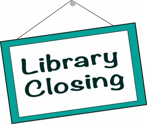 sign-library closing