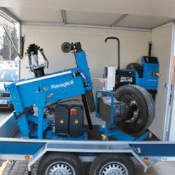 mobile commercial wheel balancer 2