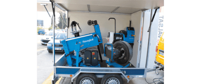 mobile commercial wheel balancer 2