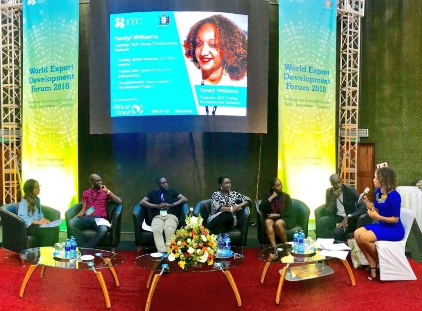 ACP YPN at UN ITC-AU World Export Development Forum, Zambia | ACP