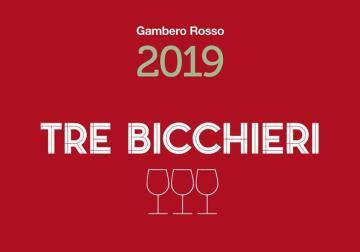 I Tre Bicchieri della guida Vini d'Italia 2019 del Gambero Rosso