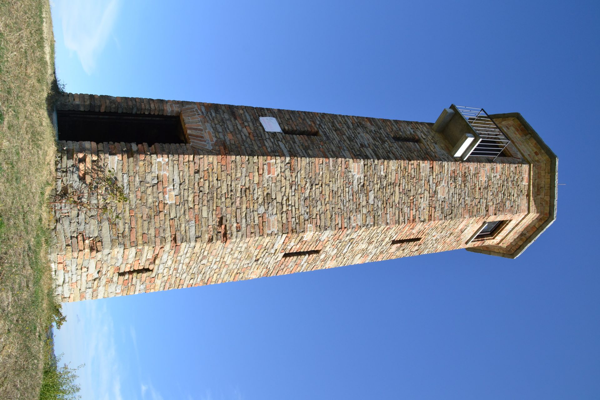 Uitkijktoren vlakbij Agliano Terme Torre dei Contini
