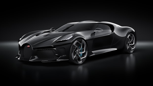 Bugatti Reveals The 12 Million Dollar La Voiture Noire