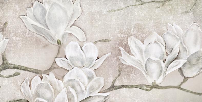 dettaglio solo stampa quadri moderni montmartre fiori mannolie