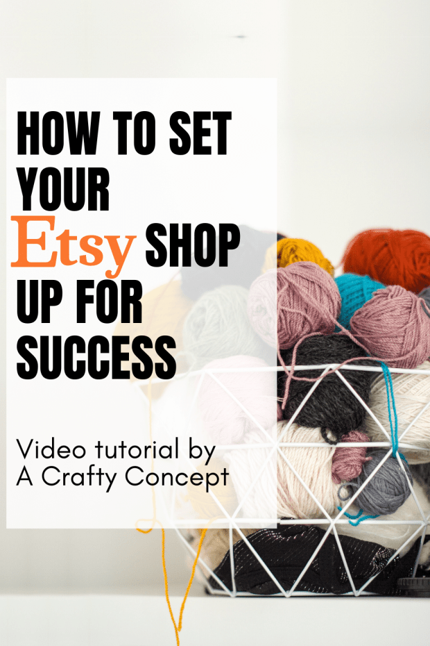 Learn how to set your Etsy shop up for success from one of Etsy's top 1% selling shops! This guide will walk you through the steps to Etsy shop success!