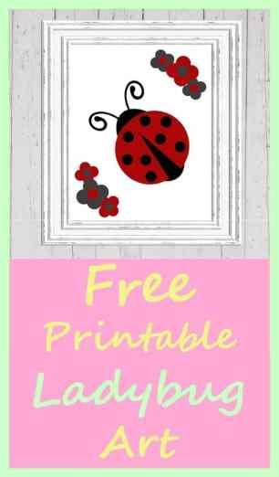 Free Ladybug Printable