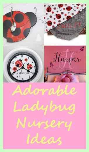 Ladybug Nursery Ideas- acraftylife.com