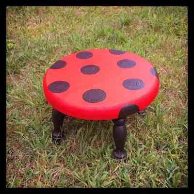 Ladybug Stool - Ladybug Nursery