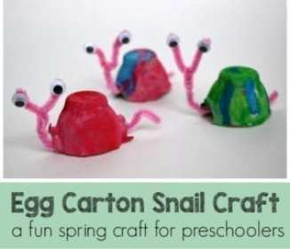 Egg Carton Kid Crafts Recycled Crafts A More Crafty Life