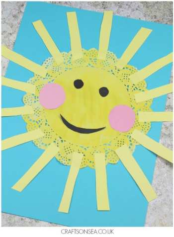 Sun Kids Crafts – Sunny Bright Craft Projects - A Crafty Life