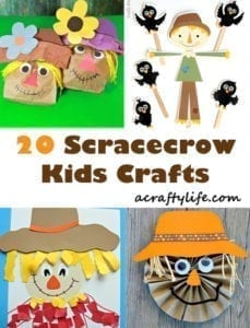 Scarecrow Crafts For Kids Fall Fun Activities A More