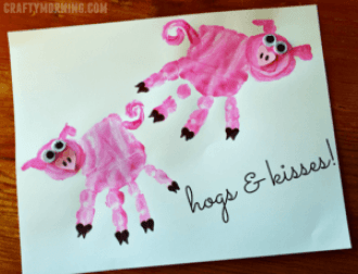 Pig Kid Crafts Fun Animal Farm Theme A More Crafty Life