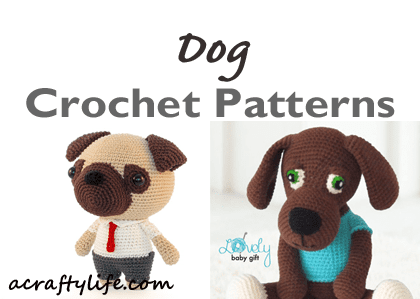 Crochet Pattern For Pug Dog - Best Seller| The WHOot | 299x420