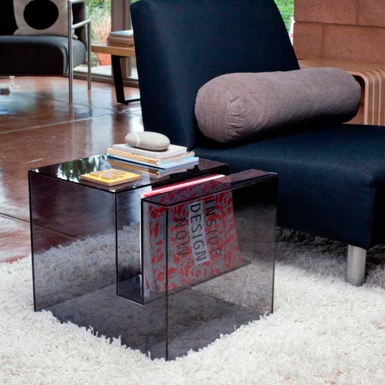 mesa acrílico humo
