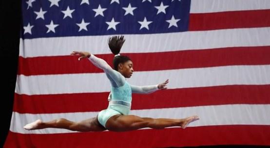 US gymnast Simone Biles