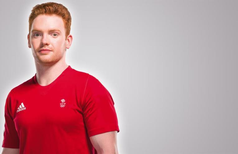 Great Britain gymnast Dan Purvis
