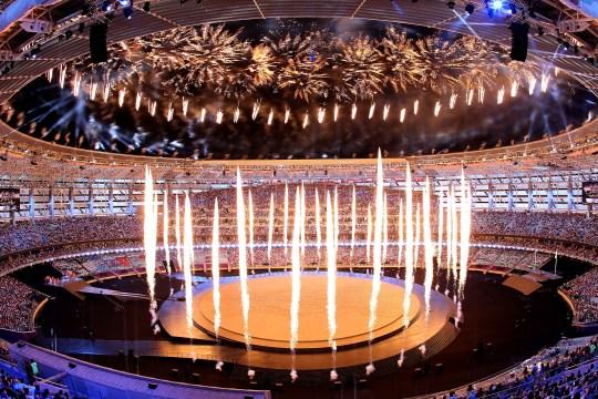 Baku 2015 opening ceremony