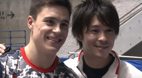 Nikita Nagornyy and Kohei Uchimura