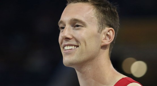 Trampolinist Jason Burnett of Canada