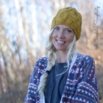 Cascading Cables Beanie Crochet Pattern by A Crocheted Simplicity