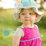 """""""Chasing Chevrons"""" Sunhat by A Crocheted Simplicity"""