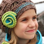 Diagonal Chevron Slouch by A Crocheted Simplicity