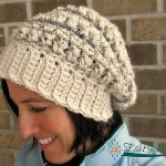 Knotted Threads Slouch by A Crocheted Simplicity