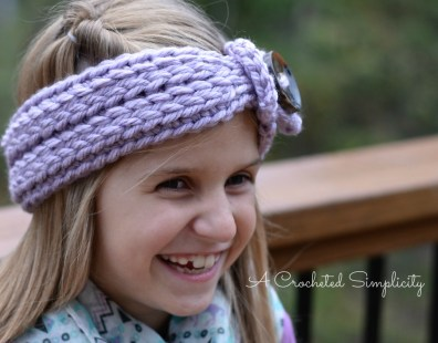 Knit Look Chunky Headwarmer Kids 2WM