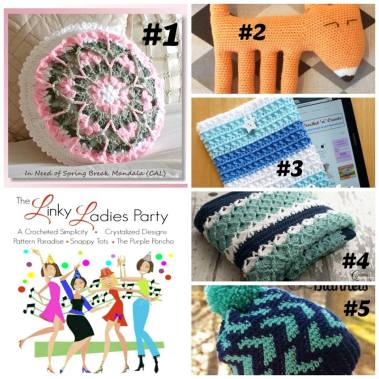 Come join The Linky Ladies Link Party & link up your newest projects! :D