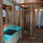 Bathroom at Kinbasket Resort