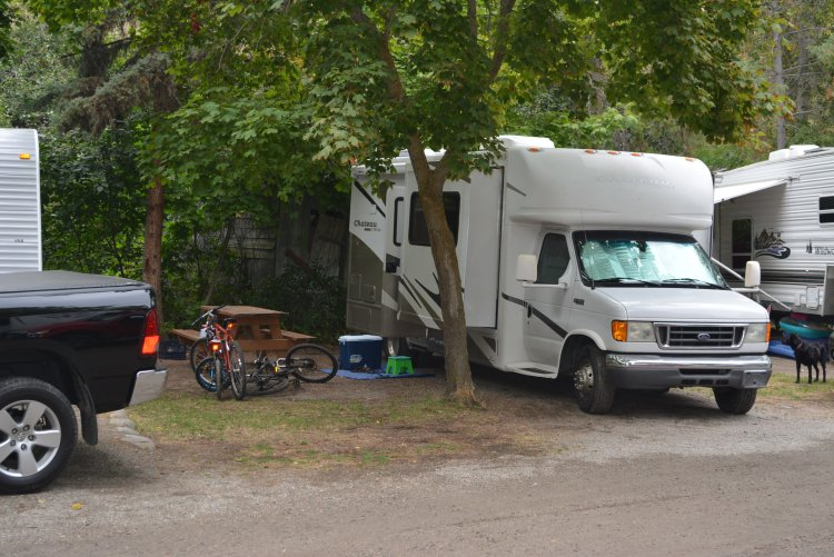 Campsites at Todd's RV