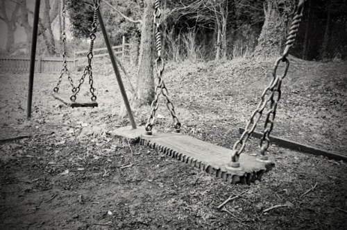 old child swing
