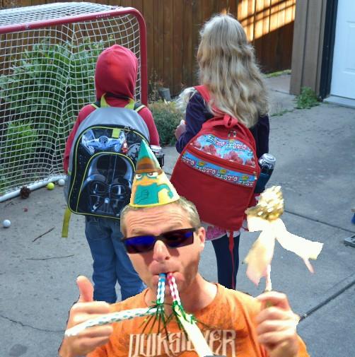 Celebrate As Kids Walk To School 2