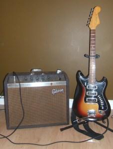 Hagstrom III Sunburst Guitar