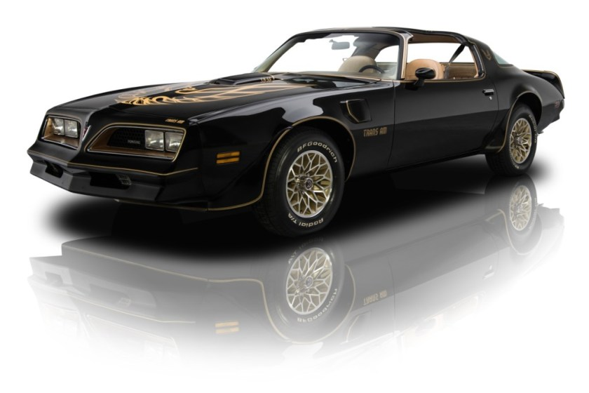 black 1977 Pontiac Trans Am Special Edition